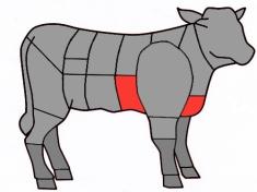 La poitrine de veau