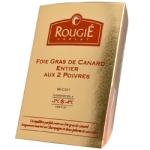 Terrine de foie gras aux 2 poivres et champagne